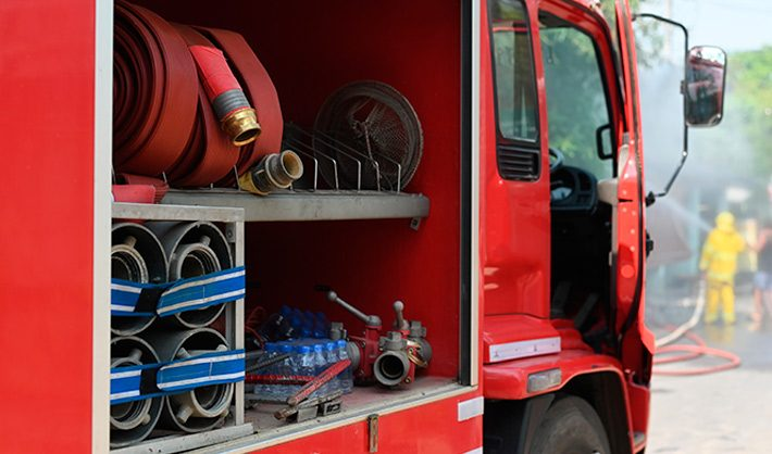 Oposiciones Bombero Barcelona 2019 camión bomberos