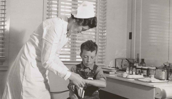 Historia de los cuidados de enfermeria