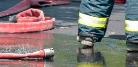 Academia de bomberos en Las Rozas