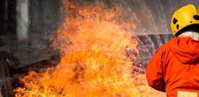 Academia de bomberos en Castellón
