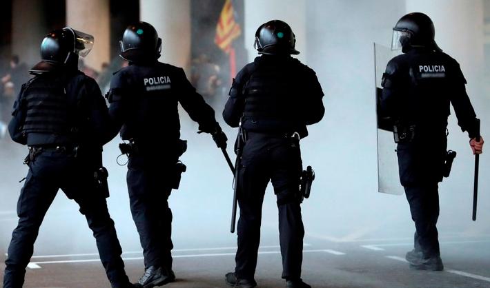 plazas de Mossos Antidisturbios