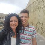 opiniones sobre Campus Training Barcelona Plaza|Receta Raviolis de otoño|Rosa María Catalán junto a su compañero de Campus Training