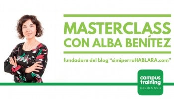 Las mejores masterclass de etología canina con Alba Benítez