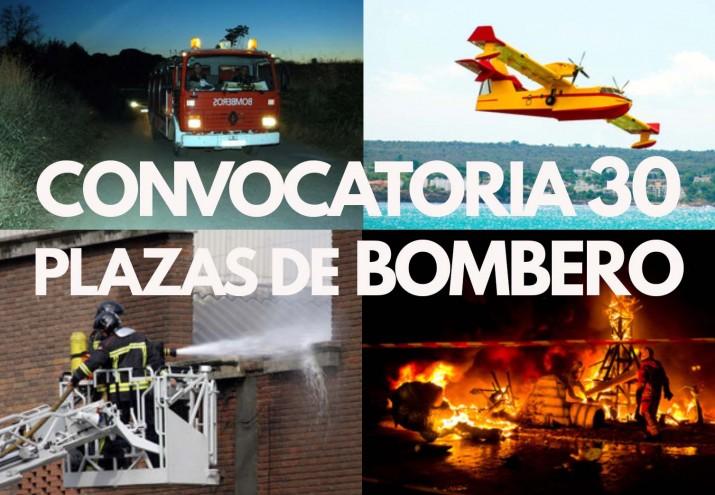 Requisitos para ser Bombero, Convocadas 30 plazas de bombero-conductor en la Diputación de Zaragoza