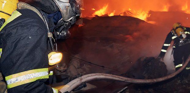 Convocatoria de bomberos en Madrid