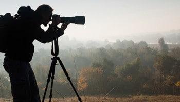 Especialidades en fotografía: fotógrafo de naturaleza