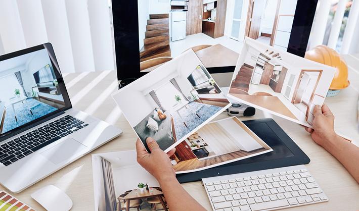 perfil profesional de un diseñador de interiores