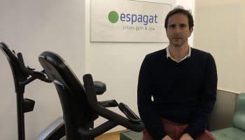 Fran Martínez, gerente de Espagat: «Parte de nuestra plantilla actual fueron alumnos de prácticas antes»