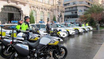 Pruebas físicas policía local Santander